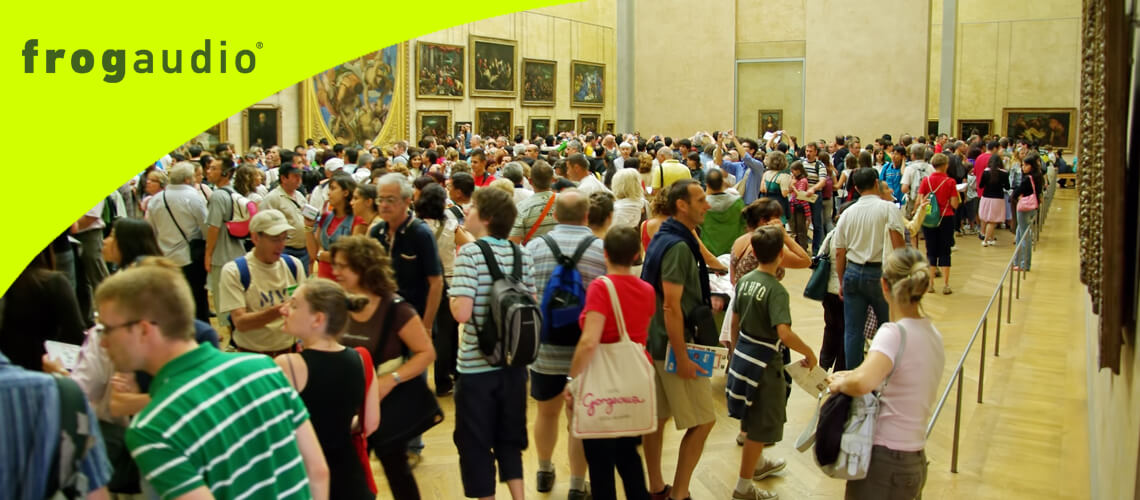 museums, galleries & exhibitions tour guide system